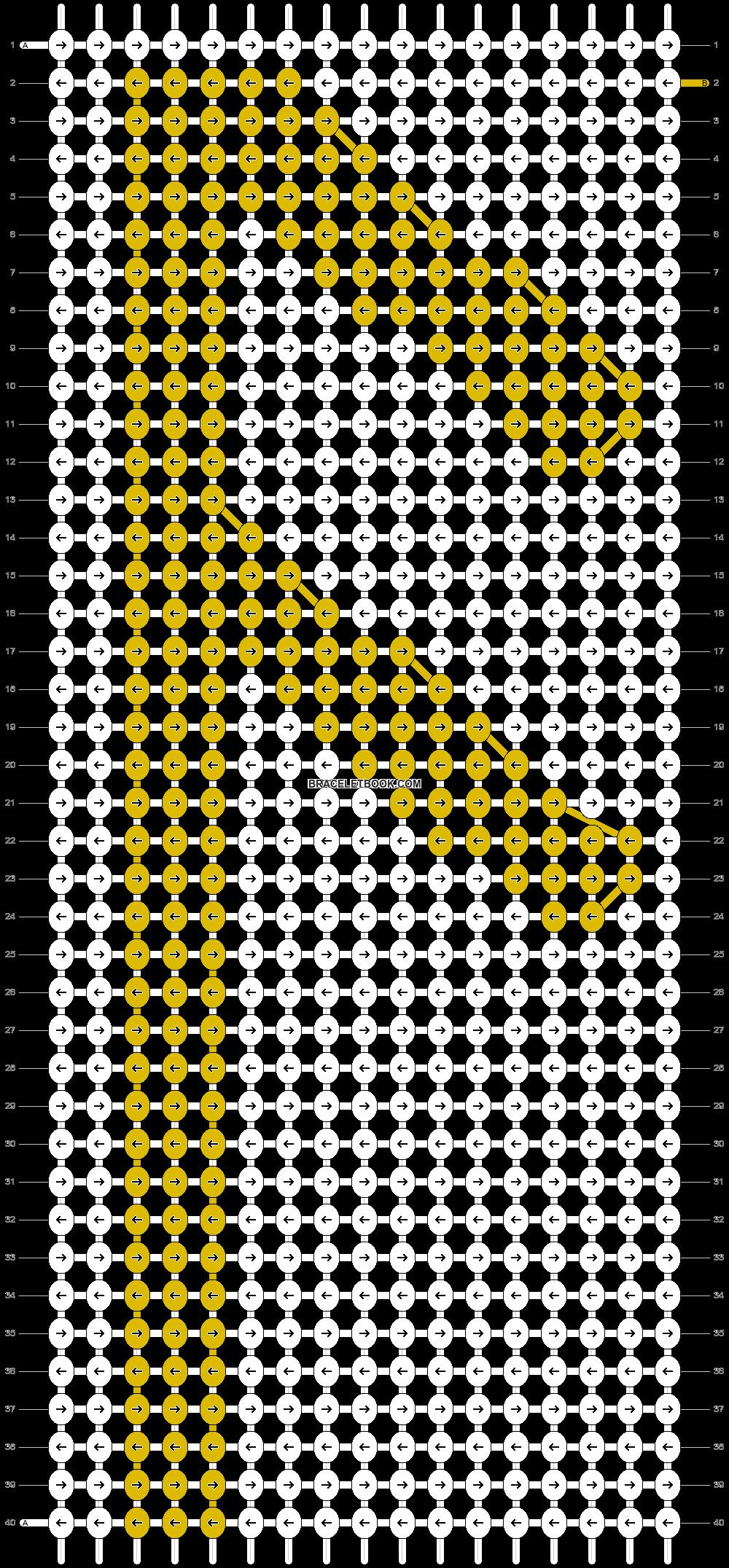 Alpha pattern #19642 pattern