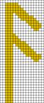 Alpha pattern #19642