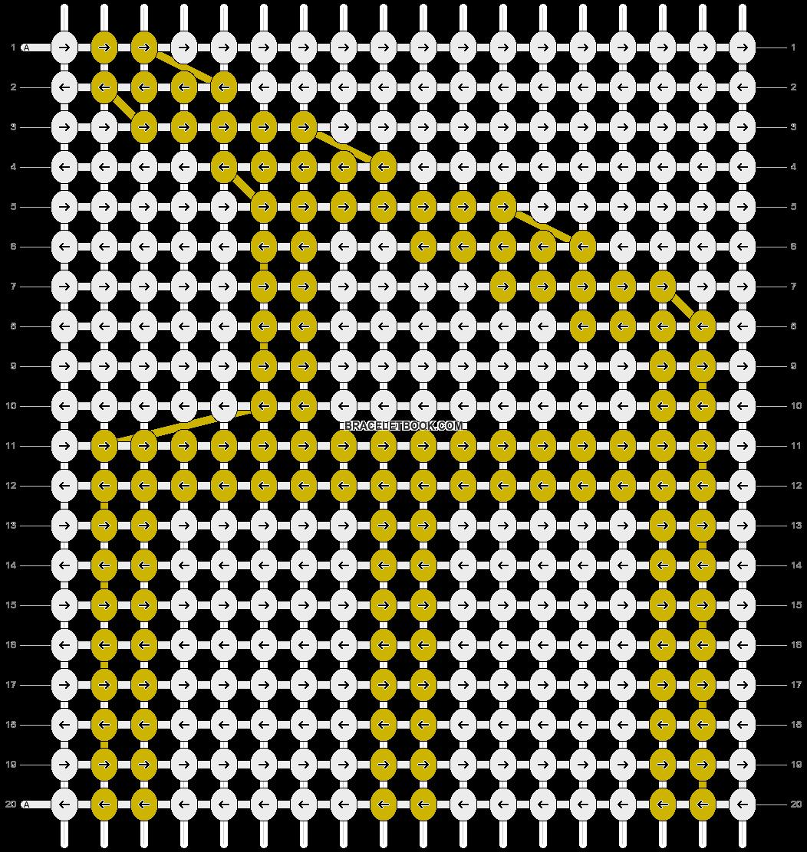 Alpha pattern #19643 pattern