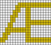 Alpha pattern #19643