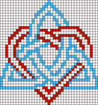 Alpha Friendship Bracelet Pattern #19644
