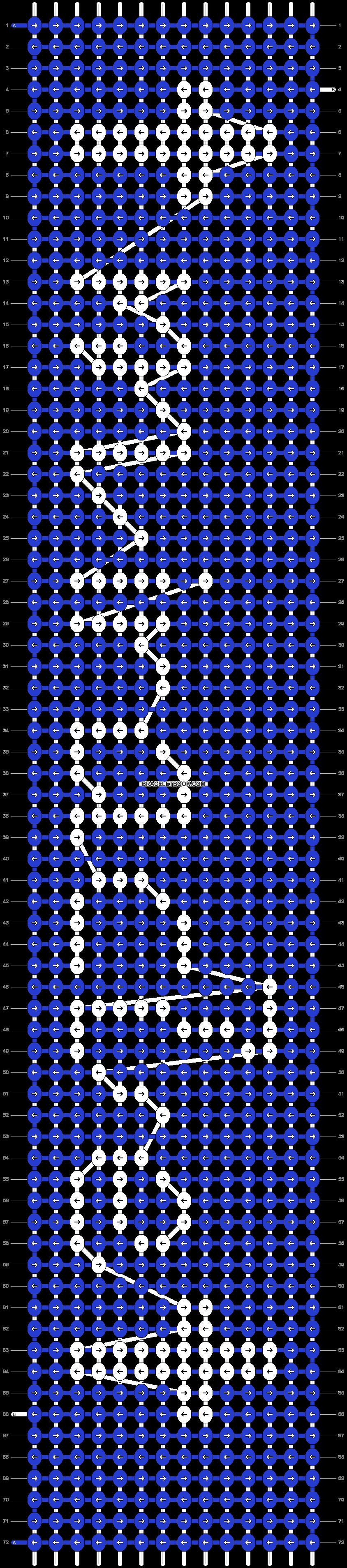 Alpha pattern #19645 pattern