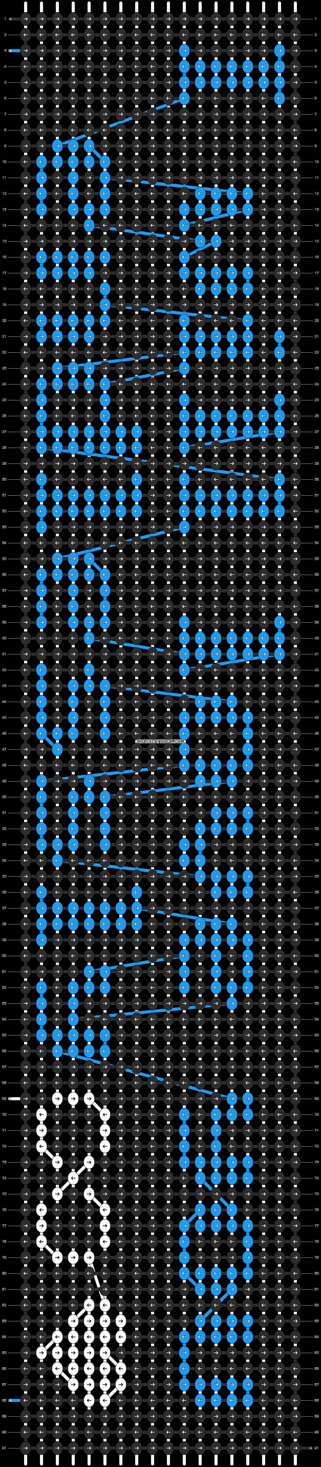 Alpha pattern #19648 pattern