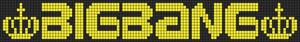 Alpha Friendship Bracelet Pattern #19655