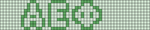 Alpha pattern #19657