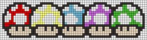 Alpha Friendship Bracelet Pattern #19660