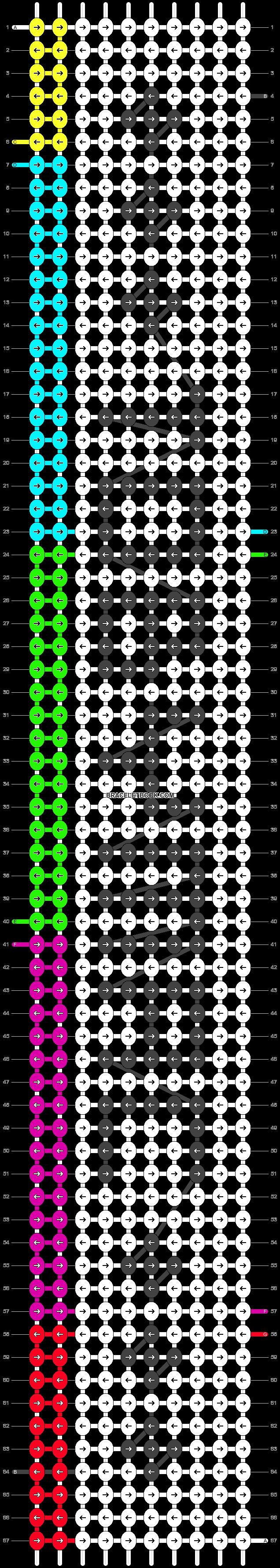 Alpha pattern #19661 pattern
