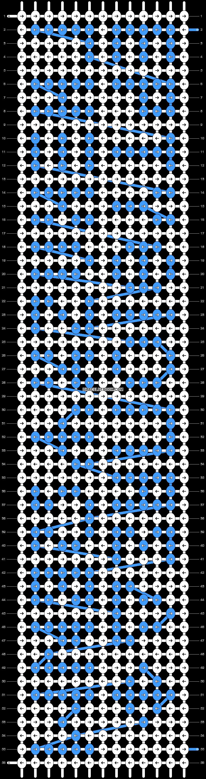 Alpha pattern #19662 pattern