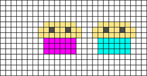 Alpha pattern #19670