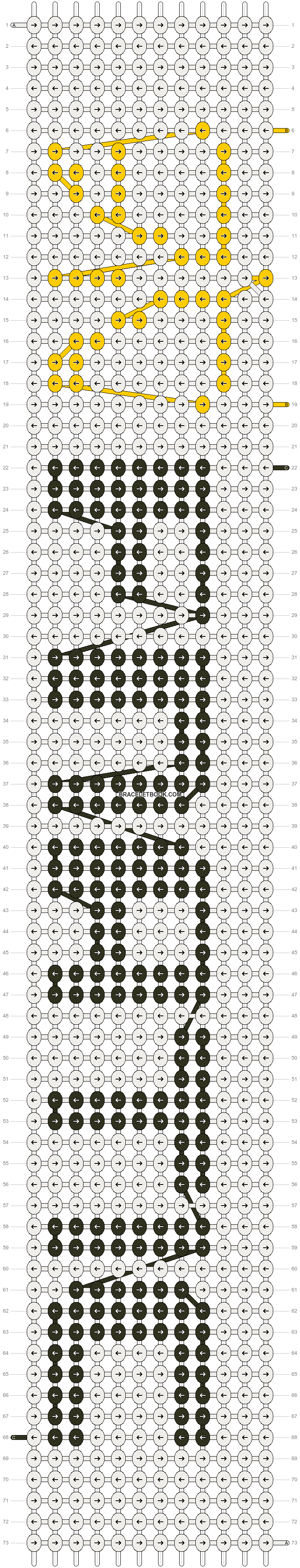 Alpha pattern #19681 pattern