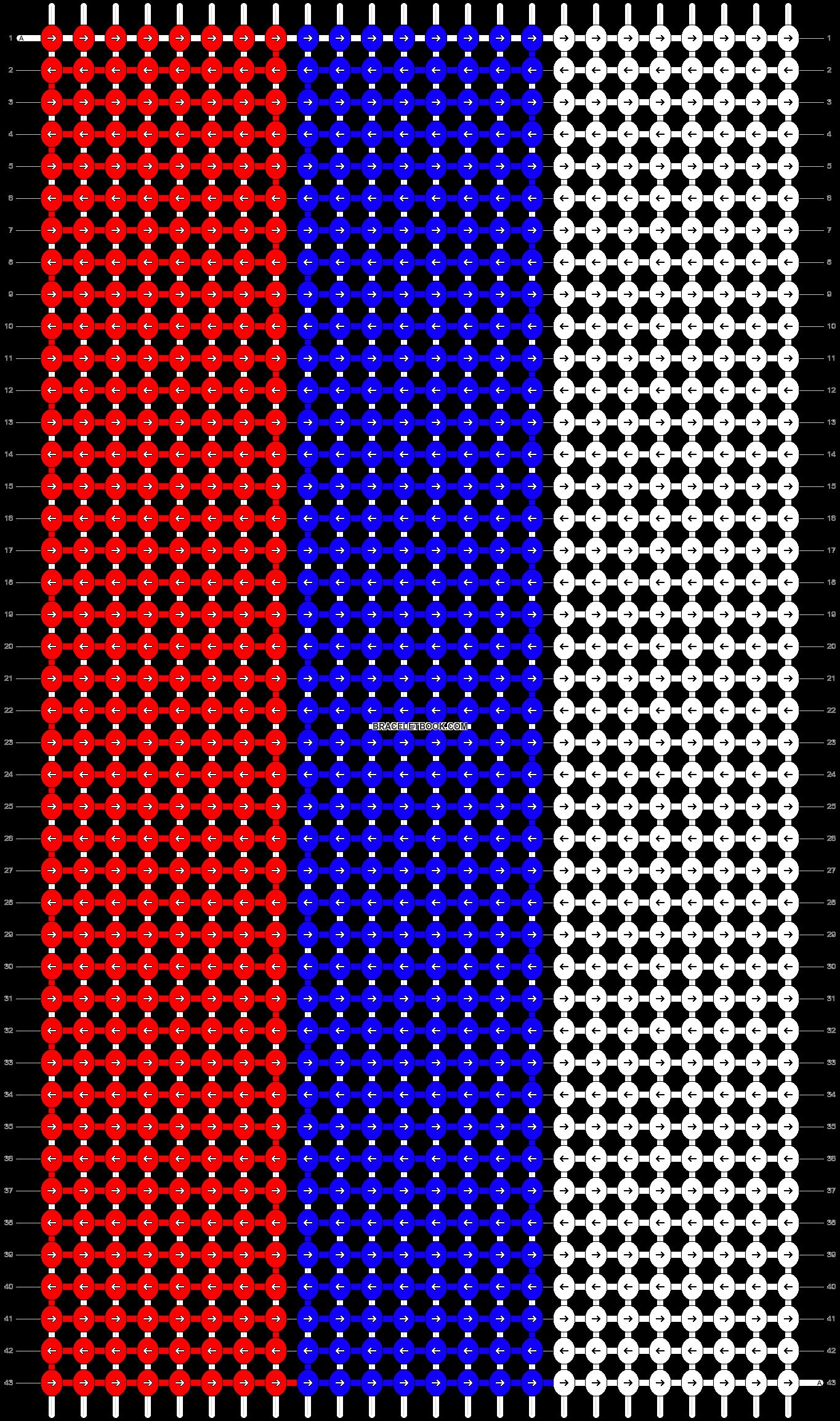 Alpha pattern #19686 pattern