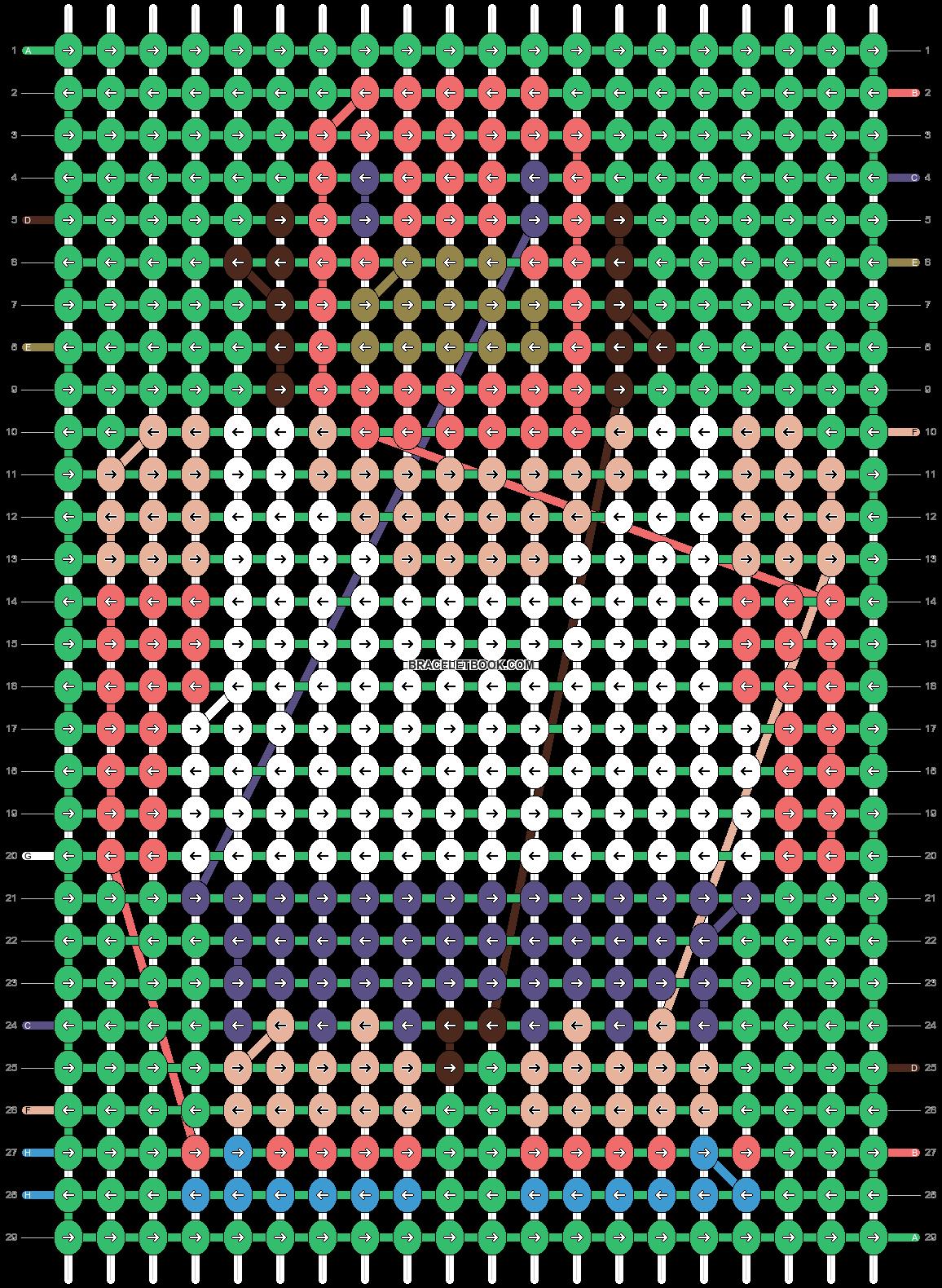 Alpha pattern #19687 pattern