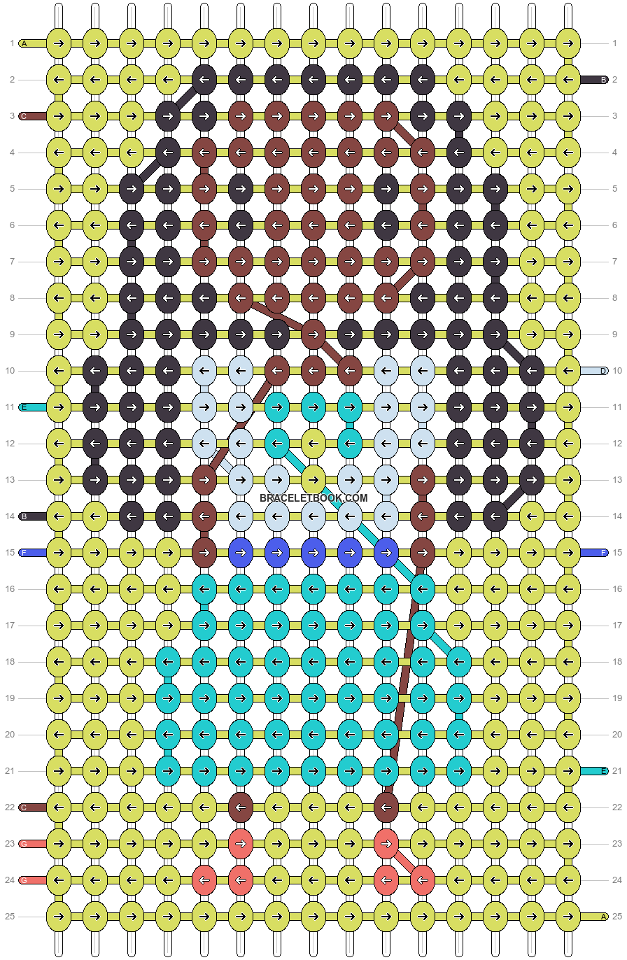 Alpha pattern #19689 pattern