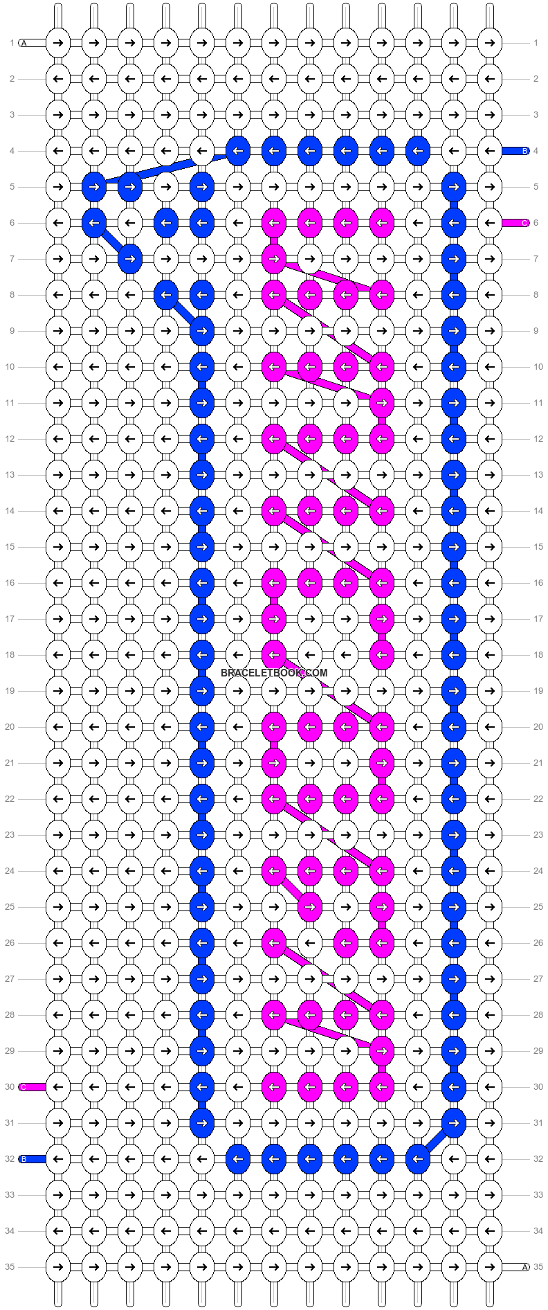 Alpha pattern #19692 pattern