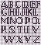 Alpha pattern #19693
