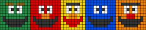 Alpha pattern #19695