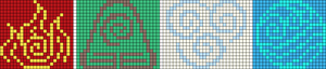Alpha pattern #19698