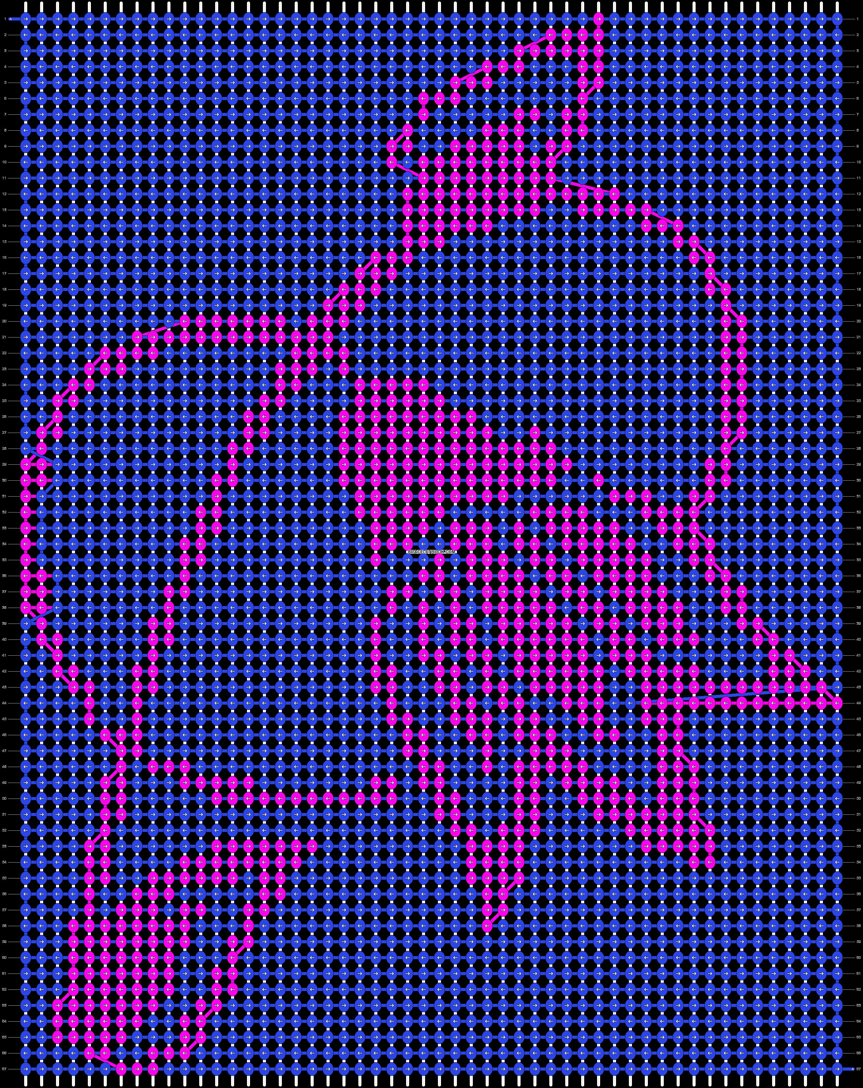 Alpha pattern #19708 pattern