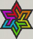 Alpha Friendship Bracelet Pattern #19711