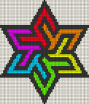 Alpha pattern #19711