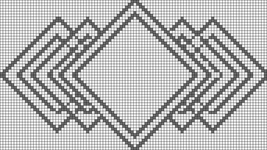 Alpha pattern #19713