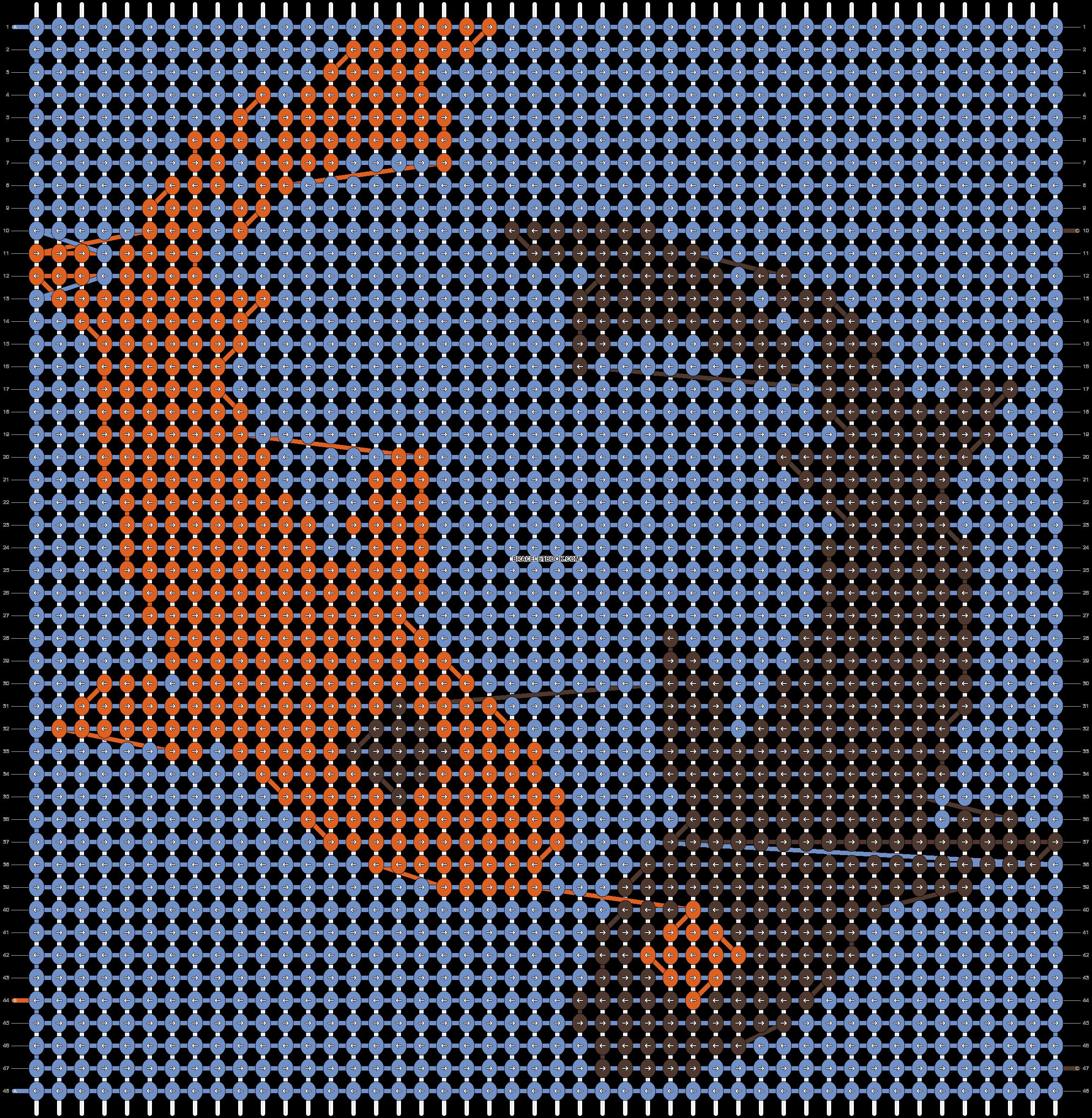 Alpha pattern #19719 pattern
