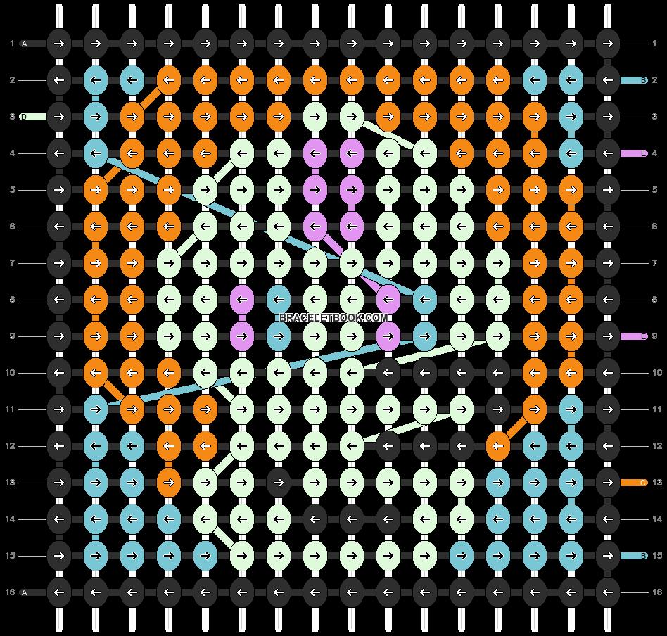 Alpha pattern #19720 pattern