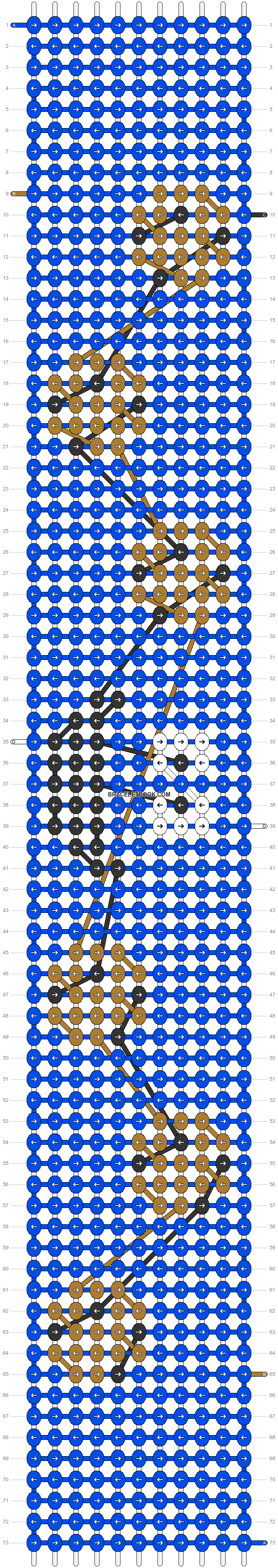 Alpha pattern #19722 pattern