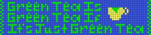 Alpha pattern #19731
