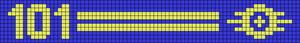 Alpha Friendship Bracelet Pattern #19736