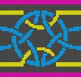 Alpha Friendship Bracelet Pattern #19750