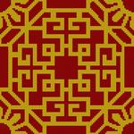 Alpha pattern #19752