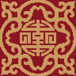 Alpha pattern #19754