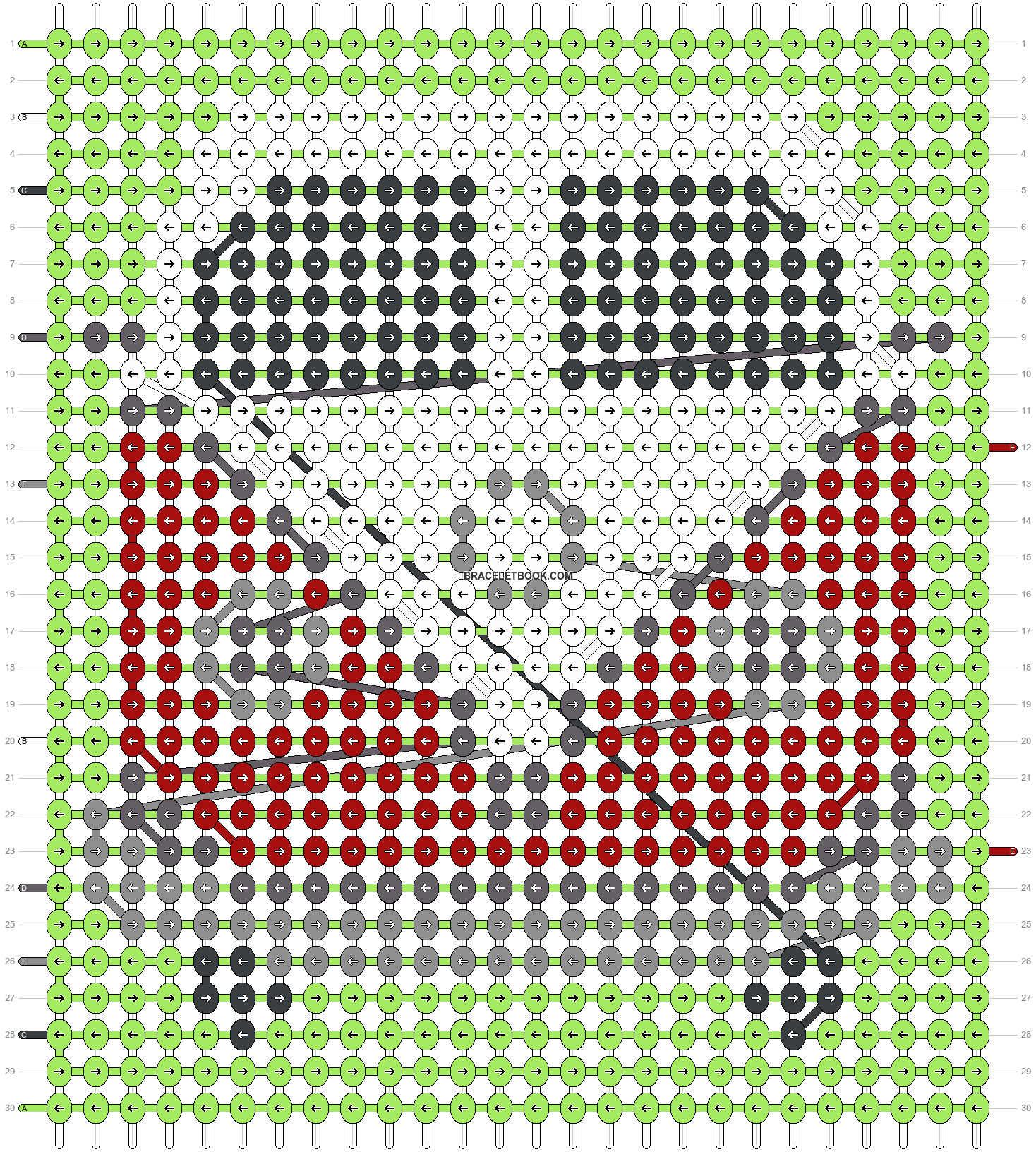 Alpha pattern #19758 pattern