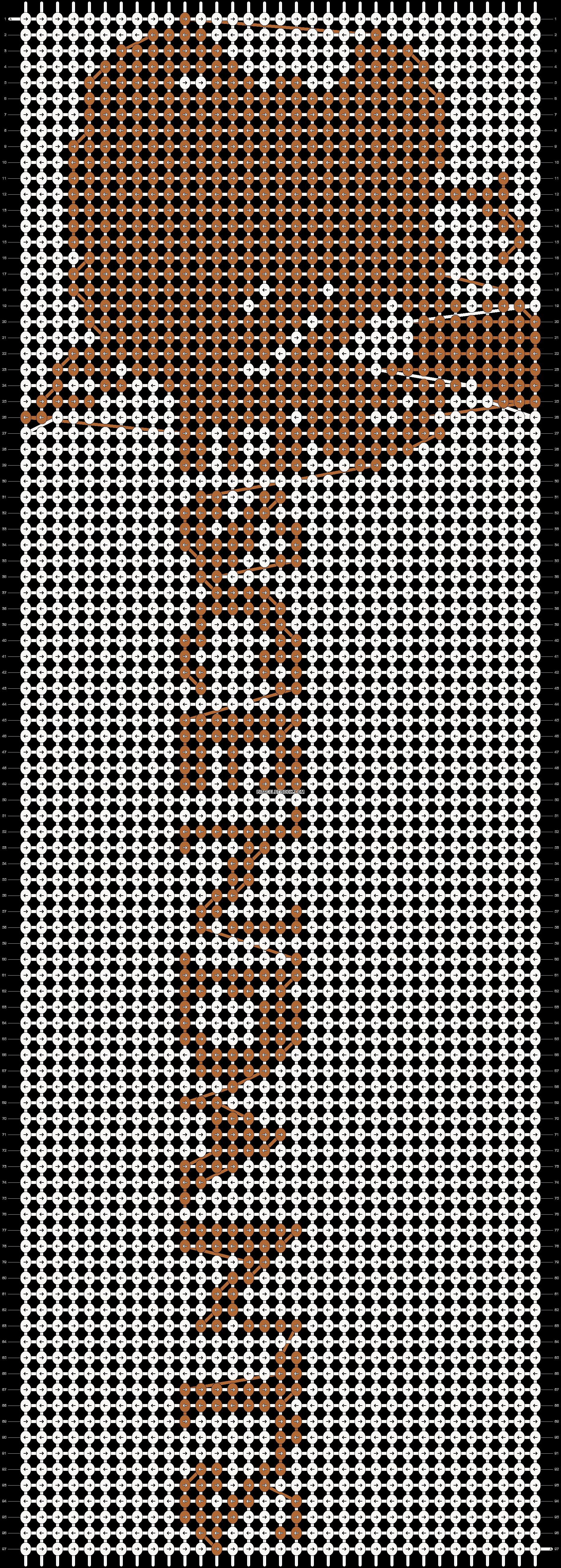 Alpha pattern #19760 pattern