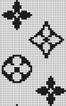Alpha pattern #19762