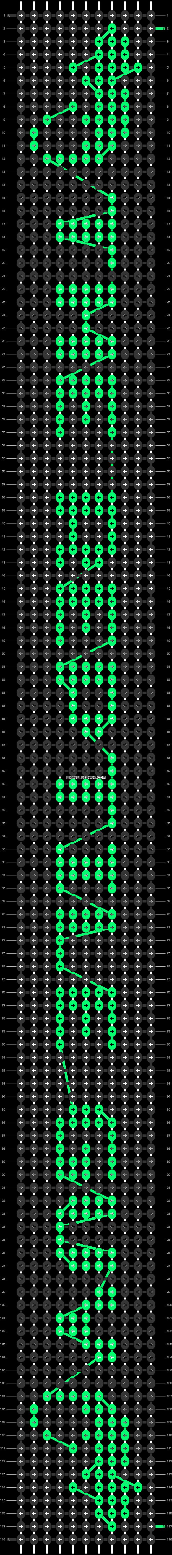 Alpha pattern #19765 pattern