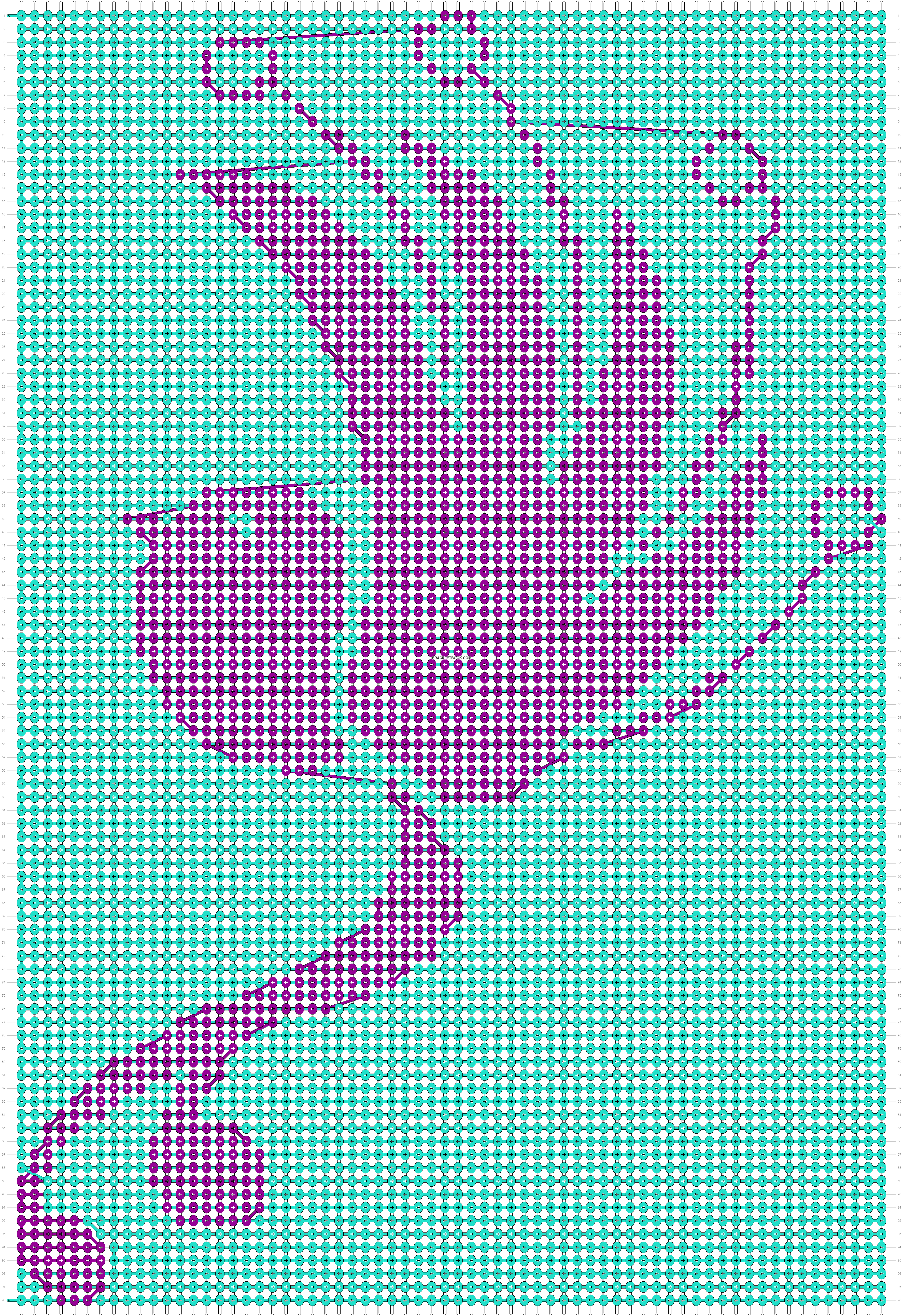 Alpha pattern #19766 pattern