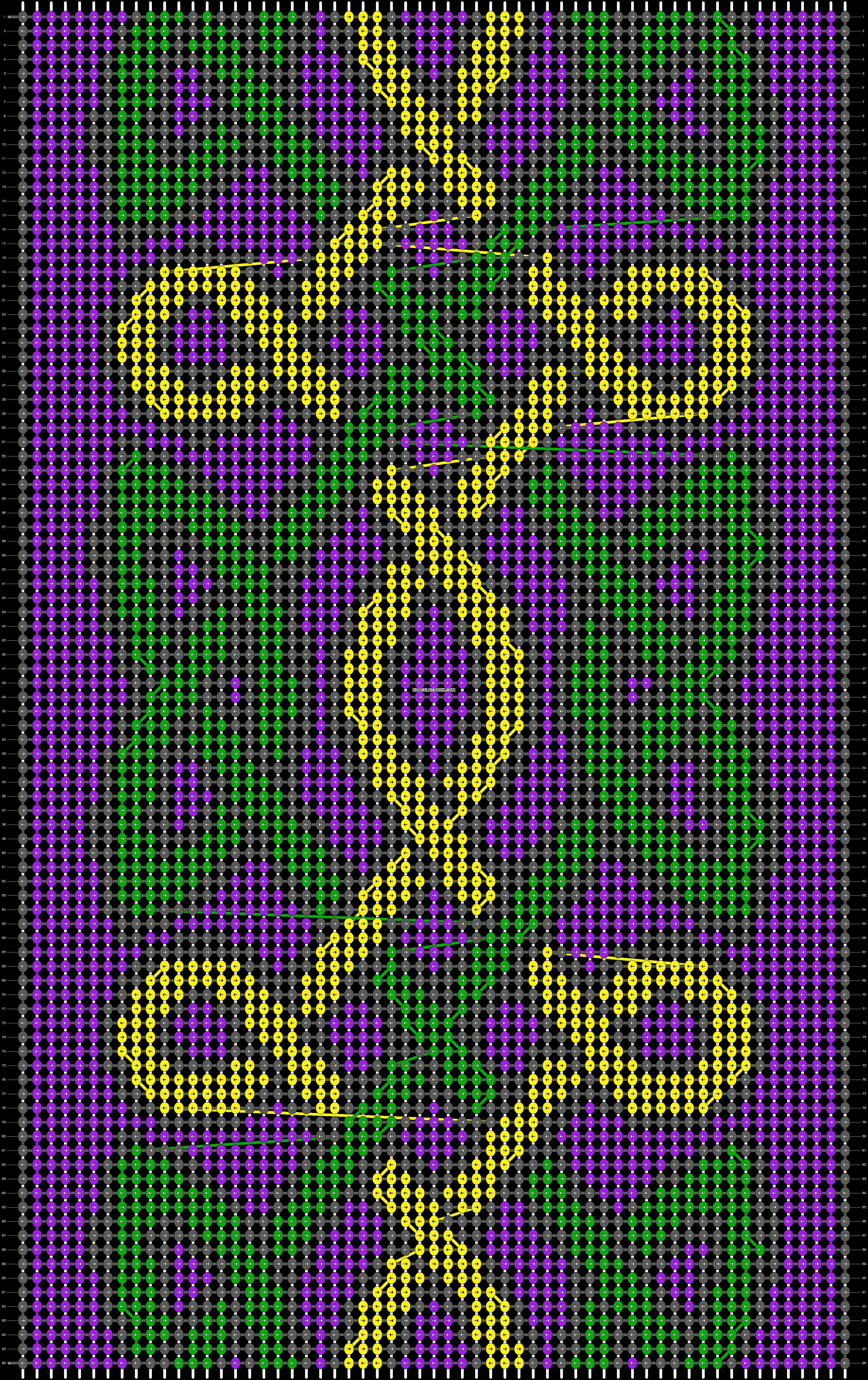 Alpha pattern #19774 pattern