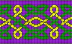 Alpha Friendship Bracelet Pattern #19774