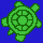 Alpha pattern #19781