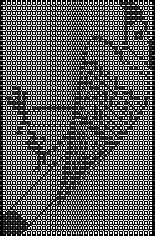 Alpha pattern #19782 pattern