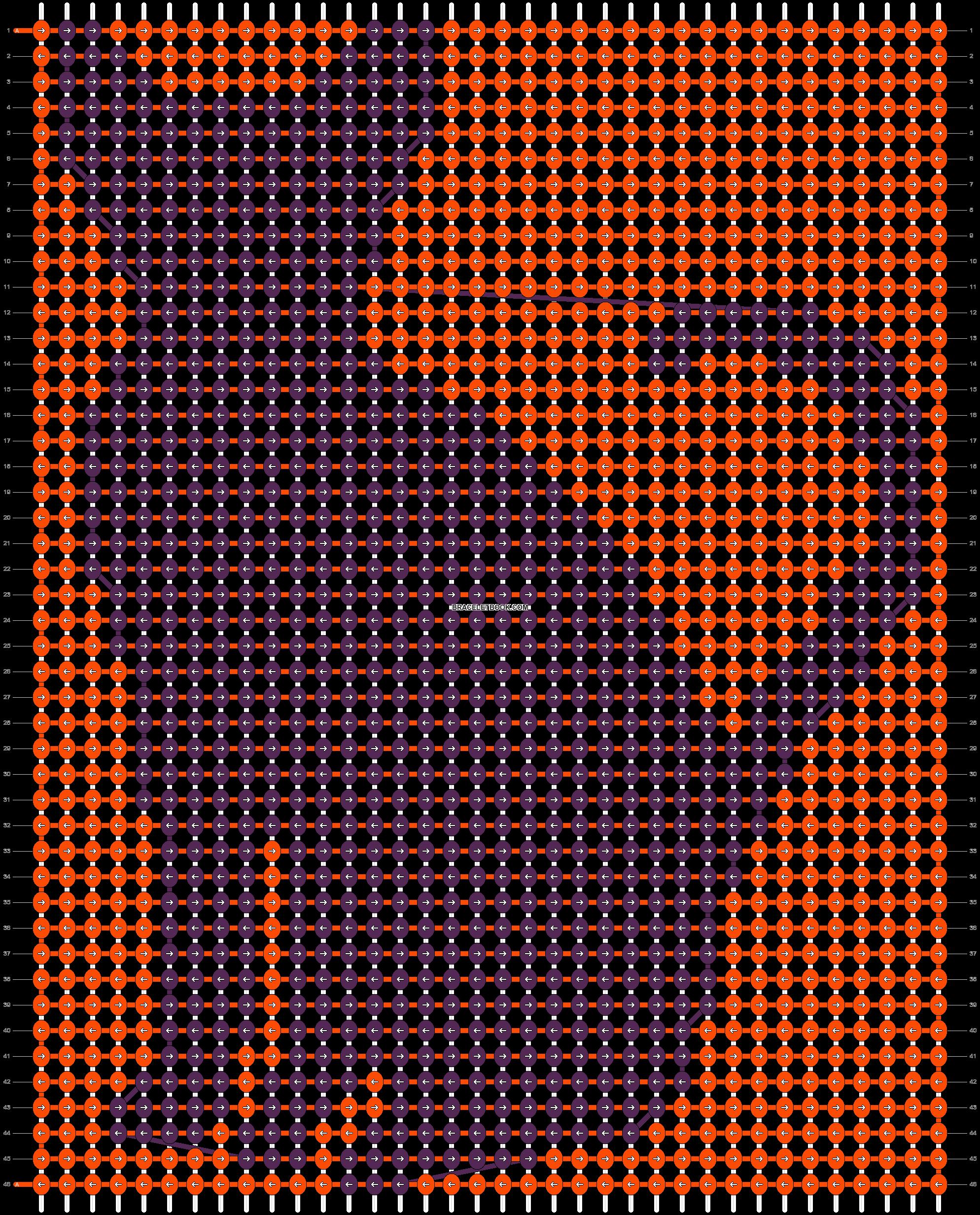 Alpha pattern #19783 pattern