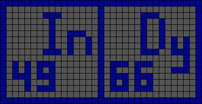 Alpha pattern #19796