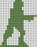 Alpha pattern #19801