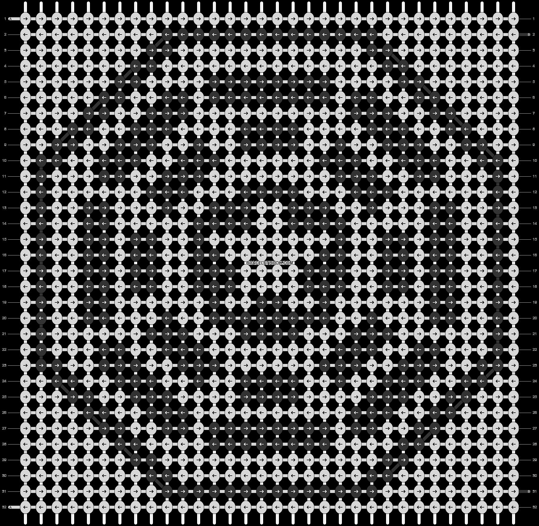 Alpha pattern #19802 pattern