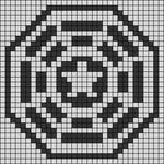 Alpha Friendship Bracelet Pattern #19802