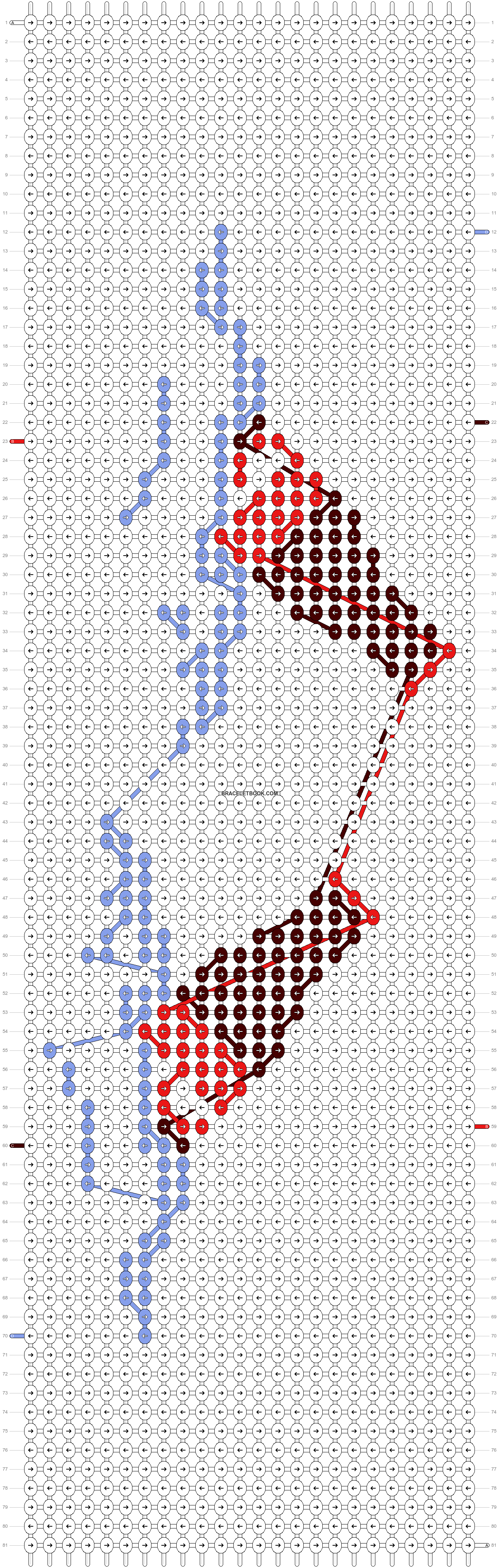 Alpha pattern #19806 pattern