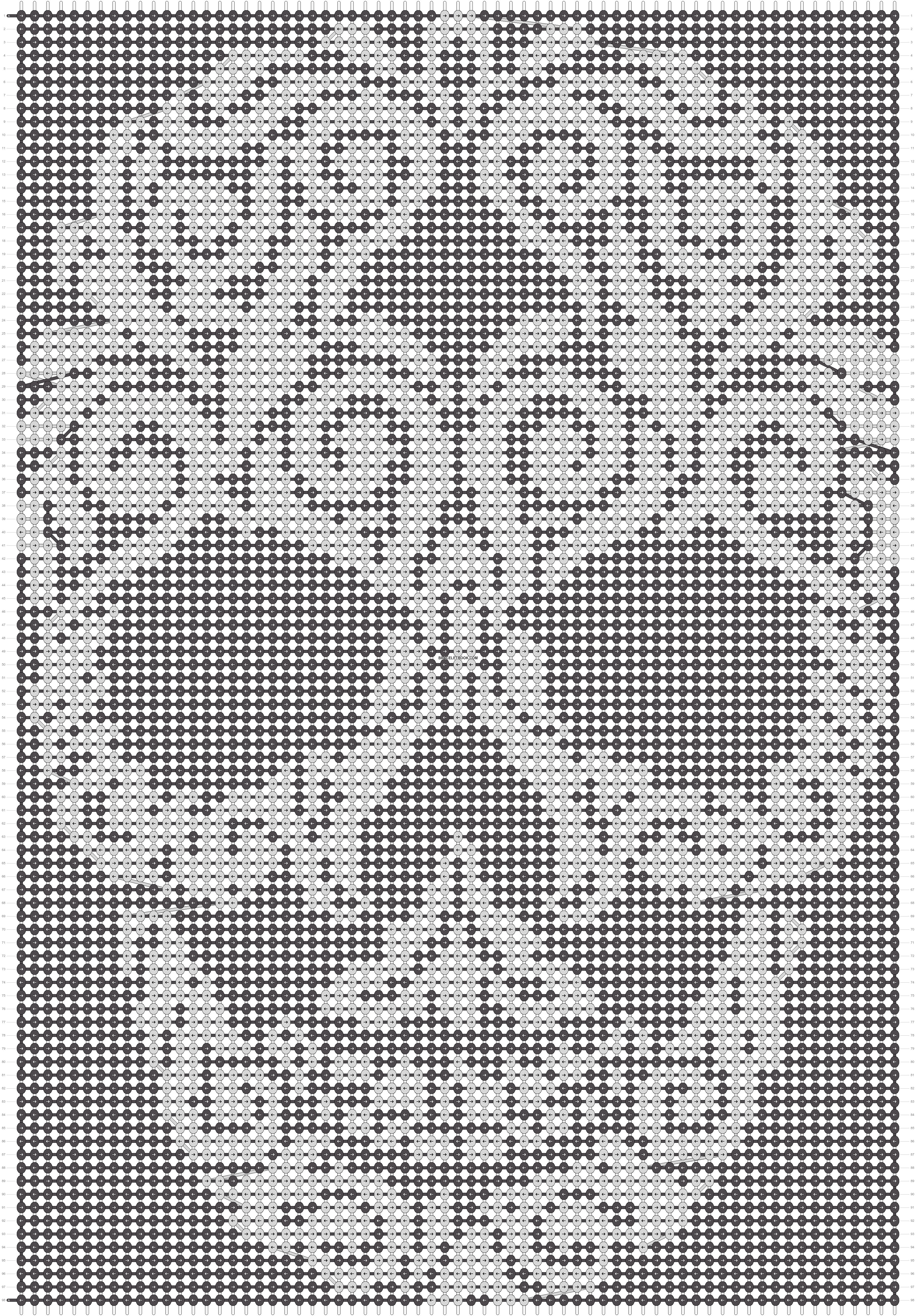 Alpha pattern #19809 pattern
