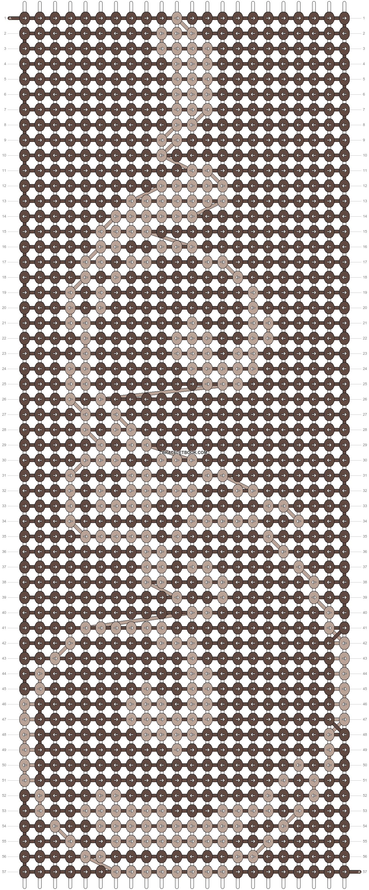 Alpha pattern #19810 pattern